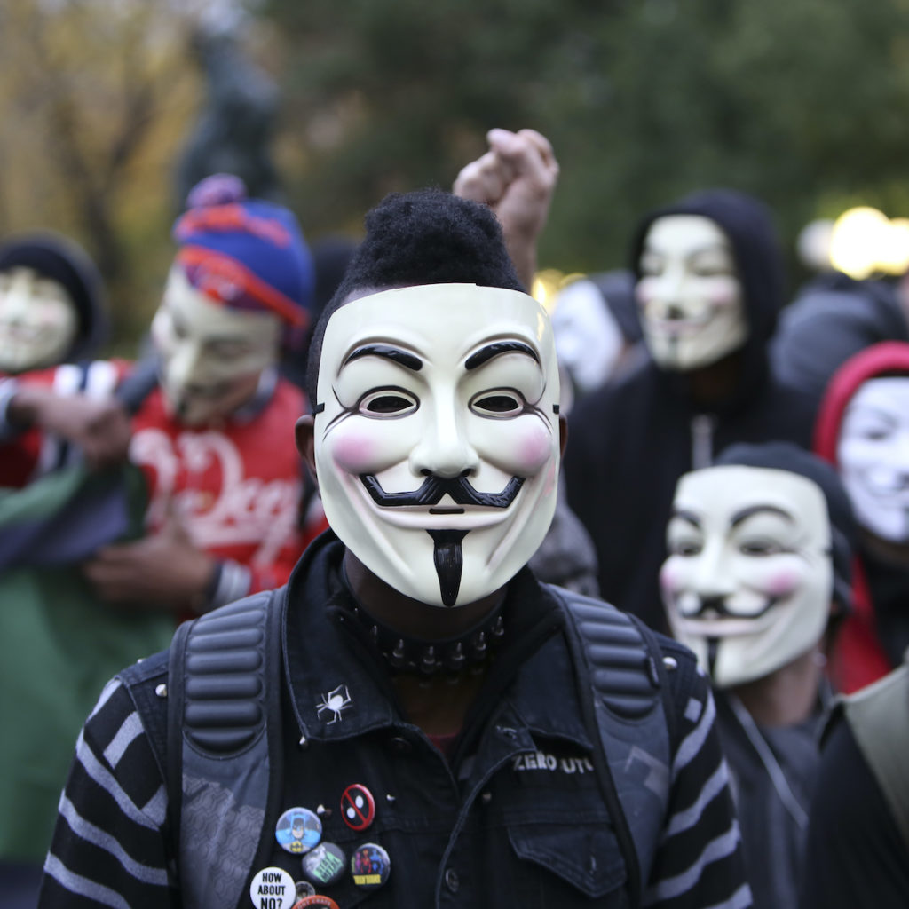 Anonymous-Occupy
