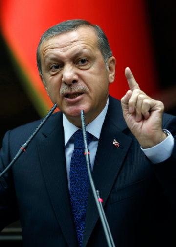 Recep Tayyip Erdogan. Photo: Mustafa Kirazli