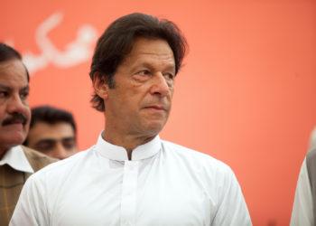 Pakistan Tehreek-e-Insaf (PTI) Chairman Imran Khan. Photo: Awais Khan