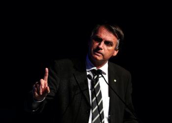 Jair Bolsonaro during participation in the Unica Forum 2018 in Sao Paulo, Brazil in June 18, 2018. Photo: Marcelo Chello