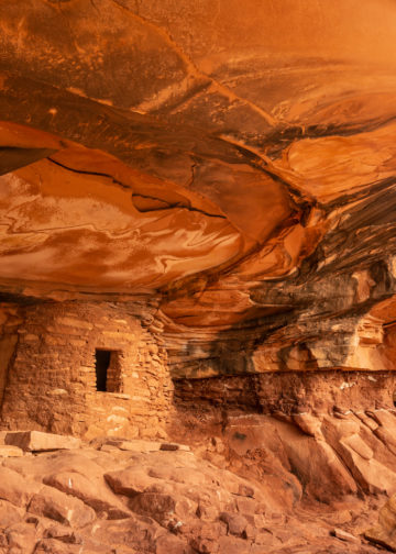 Iconic Fallen Roof Ruin in Road Canyon on Cedar Mesa in Bears Ears National Monument, Utah. Photo: Colin D. Young